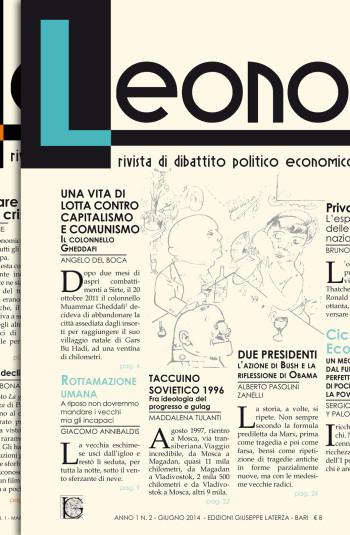LEONORA<br />rivista di dibattito politico economico culturale