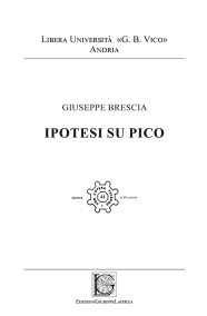 BRESCIA GiuseppeIPOTESI SU PICO