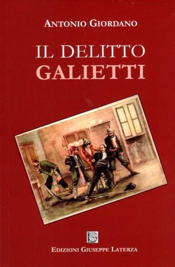GIORDANO Antonio<br />IL DELITTO GALIETTI