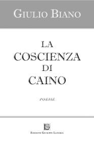 BIANO Giulio  LA COSCIENZA DI CAINO