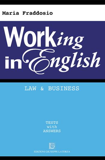 FRADDOSIO Maria <br /> WORKING IN ENGLISH