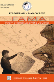 KOLEGJI FAMA – FAMA COLLEGEFAMA International Scientific Journal