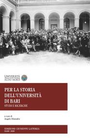 MASSAFRA Angelo (a cura di)PER LA STORIA DELL'UNIVERSITÀ DI BARISTUDI E RICERCHE